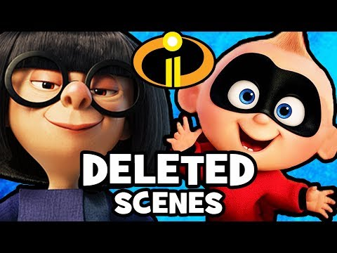 10 DELETED SCENES & Story Changes From INCREDIBLES 2