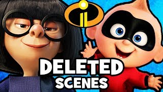 Incredibles 2 DELETED SCENES & Story Changes You Never Got To See!