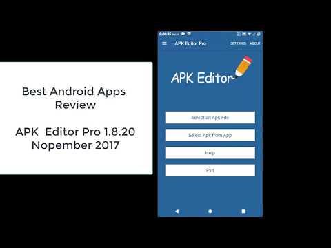 Review App Of The Week Apk Editor 1 8 20 Nopember 2017 Youtube