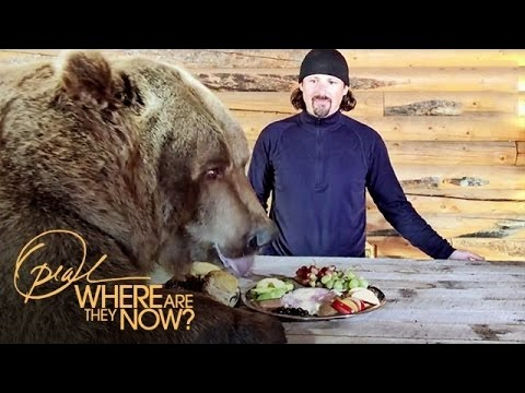 Brutus the Bear at Dinner | Where Are They Now | Oprah Winfrey Network