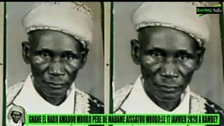 17 Janvier Bissou Gnane El Hadji Amadou Mbodji pere de Mme Aïda Mbodji député et présidente AND