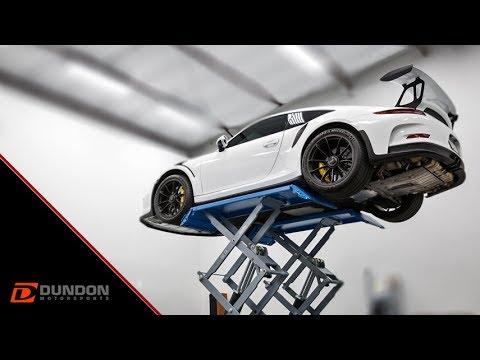 GT3 RS Dundon Race Headers, Side Muffler Delete, and Center Muffler Install
