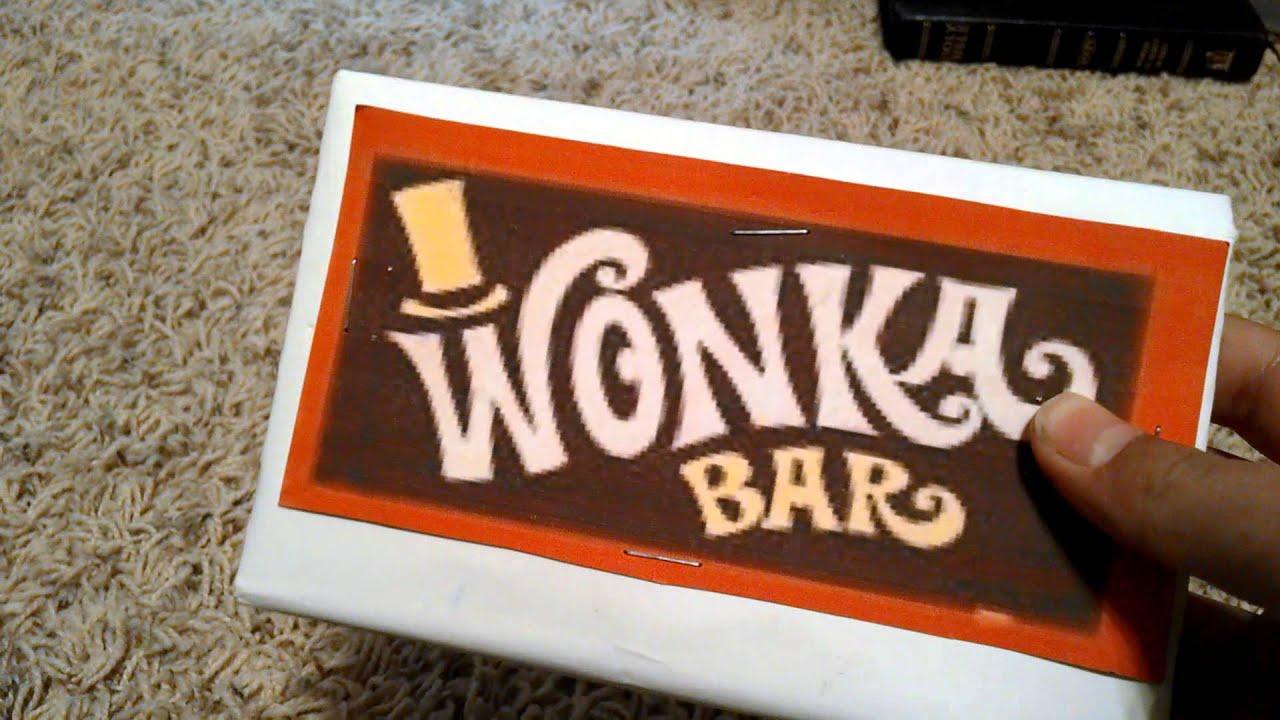 how to make willy wonka chocolate bars