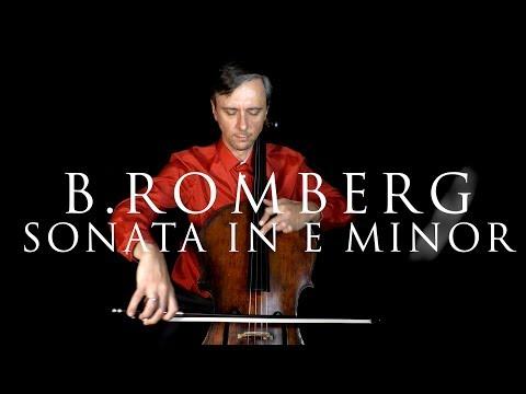 Romberg - Sonata In E Minor Op 38 No 1 In FAST And SLOW Tempo