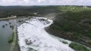 Medina Lake TX Spill Way