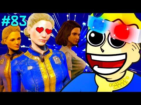 BUSTY VAULT GIRLS - PS4 Fallout 4 Mods #83