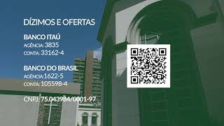 26/07/2020 - 11h - Culto ao Vivo - Rev. Davi Nogueira Guedes