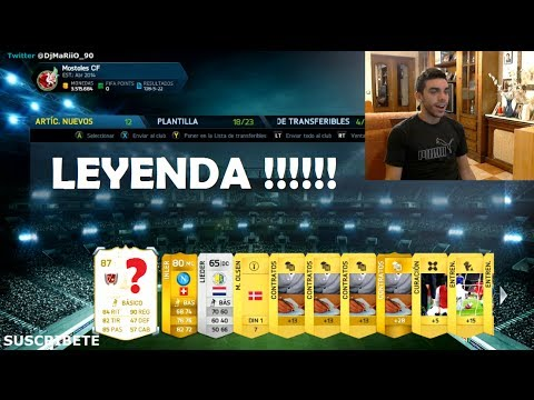 LEYENDA IN A PACK !!! FIFA Ultimate Team | DjMaRiiO