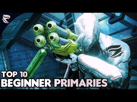 Warframe: Top 10 Primary Weapons for BEGINNERS thumbnail