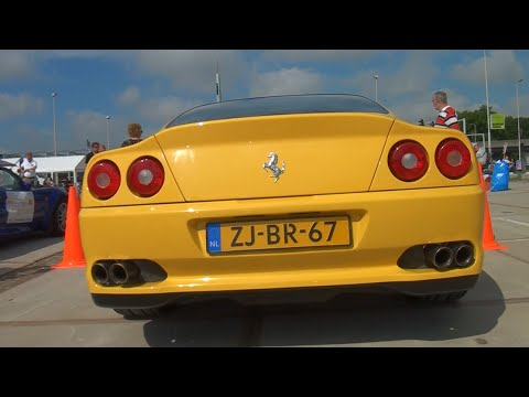 Ferrari 550 Maranello Powerslide + Tubi Sound!!