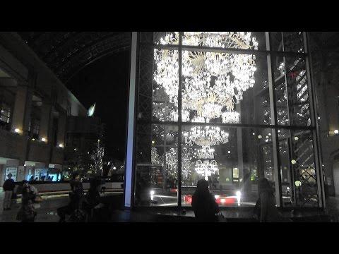 【Tokyo Sightseeing#7】YEBISU GARDEN PLACE/2015-16 Christmas Illuminations & Baccarat ETERNAL LIGHTS