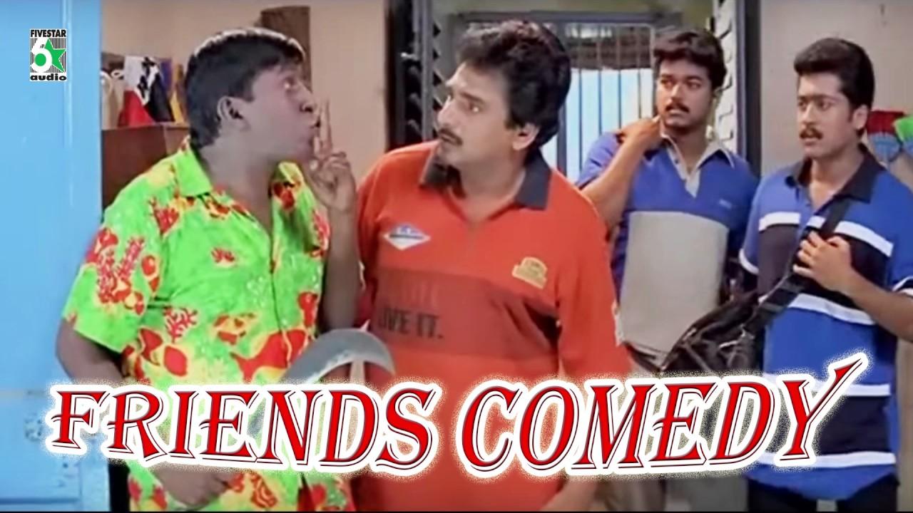 Full Movie Comedy Scenes Friends Vadivelu Youtube