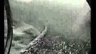 Video of Trawl Net Scraping the Ocean Floor