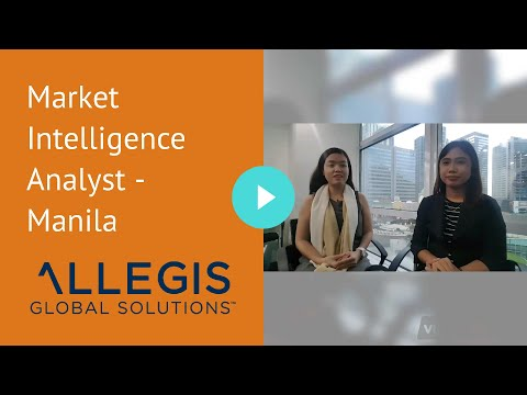 Market Intelligence Analyst - Manila
