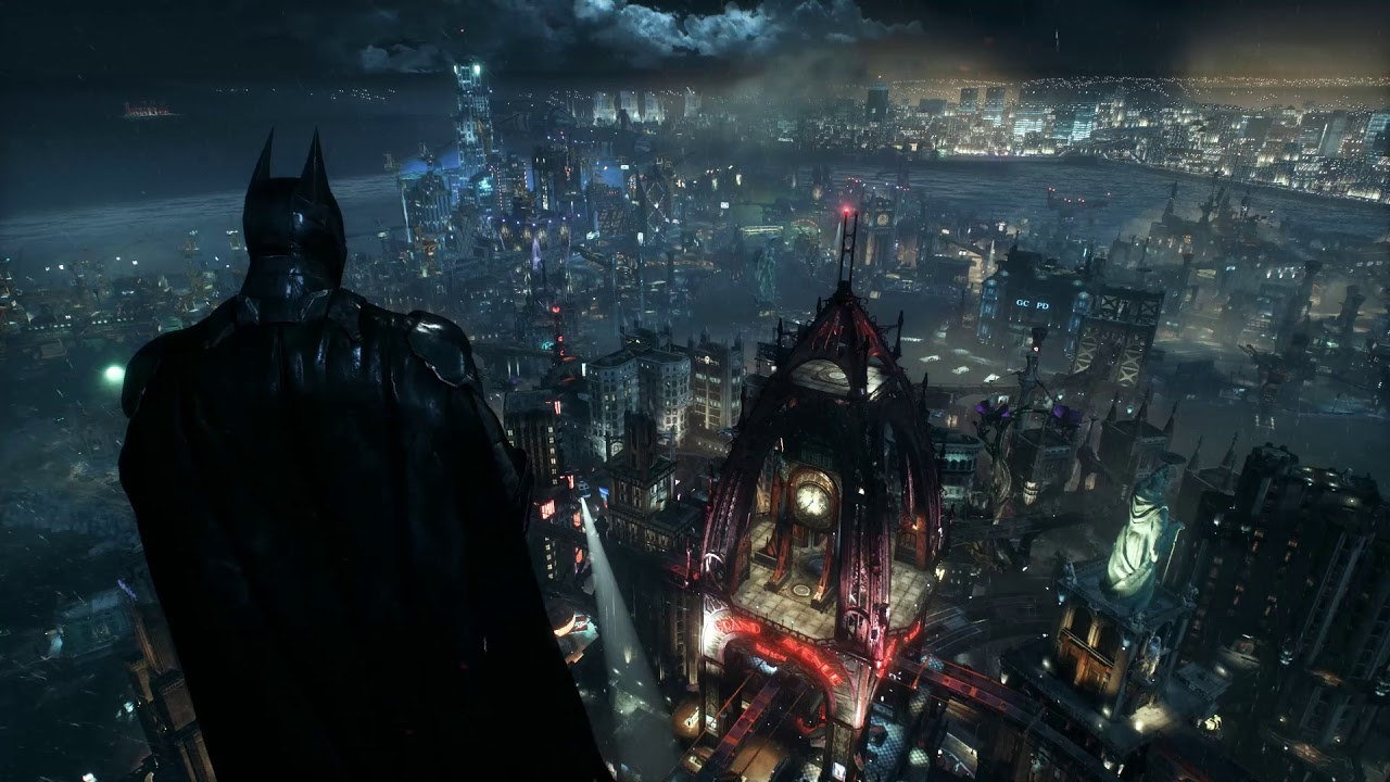 Batman Arkham Knight Wallpaper Engine Live Wallpaper Sound