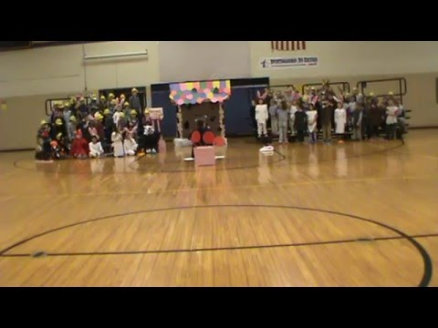 Onsted Elementary School - 1st Grade's Play of This Old Gingerbread House 12-18-2015