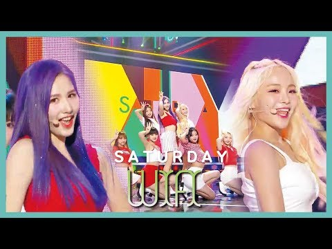 [HOT] SATURDAY  - WiFi, 세러데이 - 와이파이 Show Music core 20190720