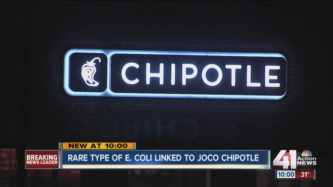 Chipotle linked to E. coli case in Johnson County