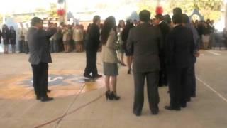 Inauguración  y certificación de la escuela normal de Teacalco 1° PARTE