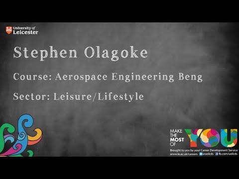 Stephen Olagoke - Leisure/Lifestyle Sector