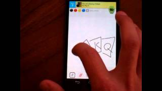 "Save Screenshots Of Your ""draw Something"" Drawings On Android"