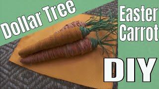 Dollar Tree EASTER Carrot DIY!
