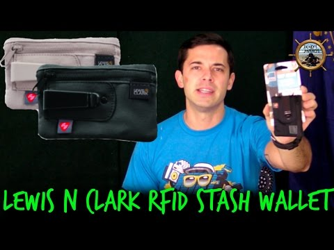 Lewis N. Clark RFID Blocking Clip Stash Wallet