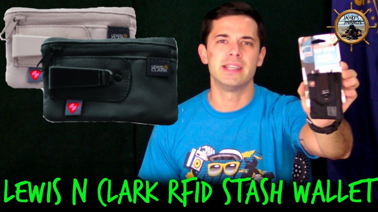 36c5458e0dc6 Lewis N. Clark RFID Blocking Clip Stash Wallet