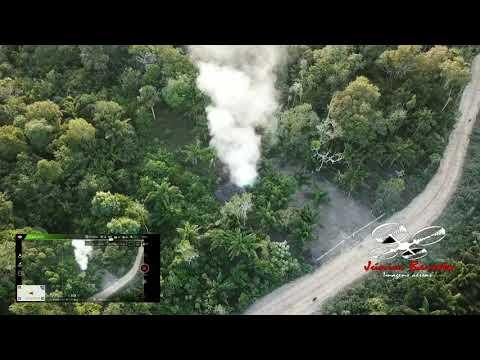 Drone Flagra procissão do Círio de Nazaré em São Sebastião da Boa Vista