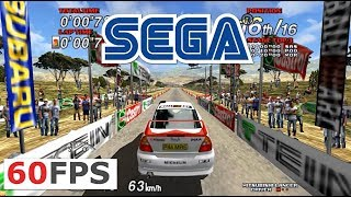 SEGA Rally 2 arcade Model 3 emulator (Supermodel) 60fps 1440p 16:9 (SEGA, 1998)