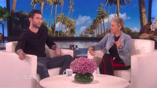 Adam Levine gripes about Blake Shelton and Gwen Stefani's PDA | The Ellen Degeneres Show