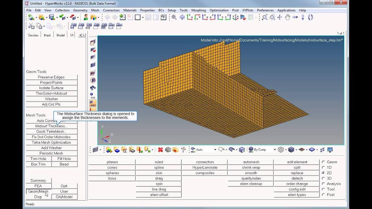 Error 1487 - Optristruct - Altair OptiStruct - Altair Forum
