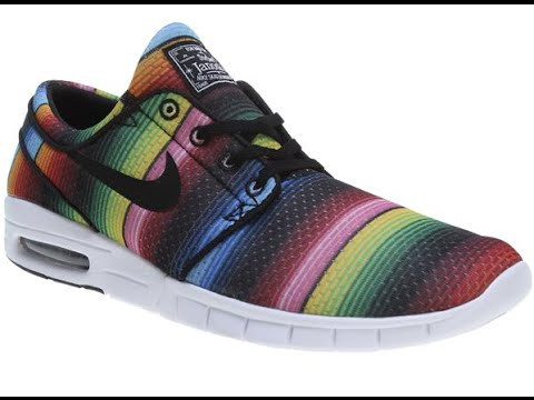 buy online 90dd6 53215 Nike Stefan Janoski Max Premium Skate Shoes - Review - The-House.com -  YouTube