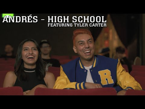 Andrés - High School featuring Tyler Carter (Official Music Video)