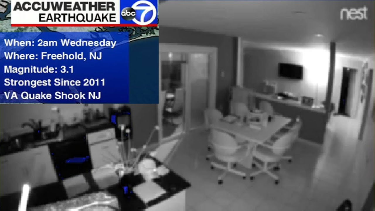 3.1 Magnitude Earthquake Hits Monmouth County, New Jersey