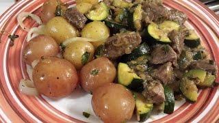 Delicious Lamb And Zucchini Stew Recipe