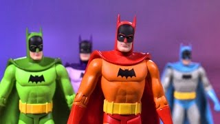 These Rainbow Batman Figures Walked Straight Out of the 1950s