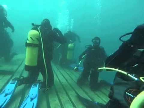 dive 3; reg retrieval and buddy breathing