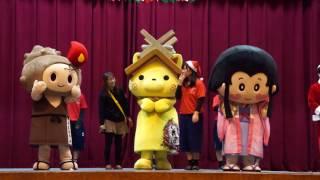 2016/12/23 しまねっこ「邇摩高フェア(ウィンターフェア)」へ遊びに行くにゃ!