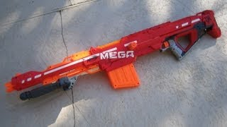 [REVIEW] Nerf Elite Mega Centurion Review & Firing Test