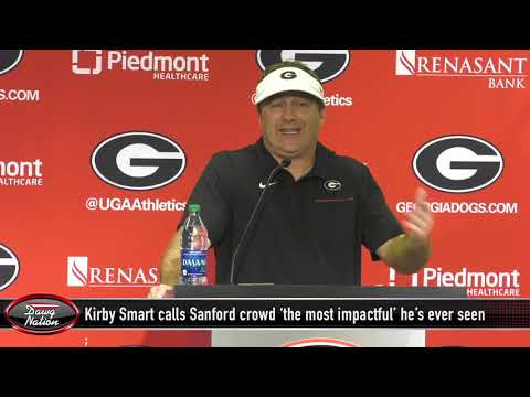 Kirby Smart calls UGA crowd against Notre Dame 'the most impactful I've ever seen'