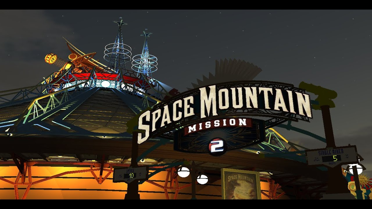 Space Mountain - Mission 2 3D Trailer - YouTube