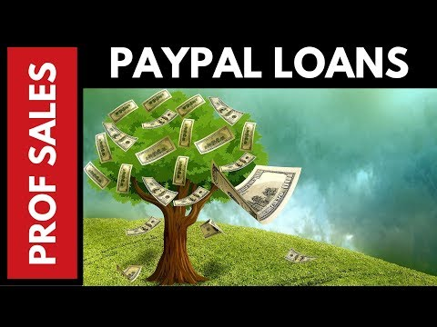 How to Get a PayPal Loan for your Ebay Business