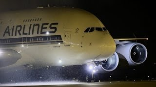 Airbus 380 Singapore Airlines-The SuperJumbo Arrives