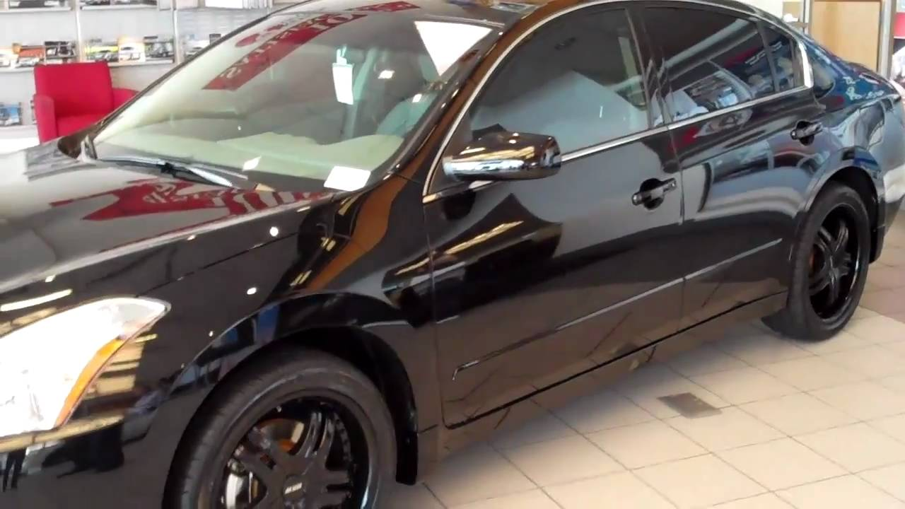 Check Out The Quot Blacked Out Quot 2010 Altima From Ken Garff