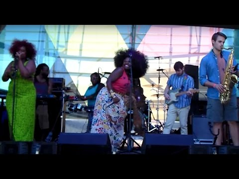 French Quarter Fest: Tank and The Bangas