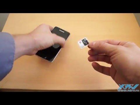 Вопрос: Как вставить SIM карту в телефон Samsung Galaxy S3?