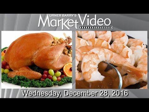 Post Thanksgiving Turkey Stocks; Gulf Shrimp Harvest; 2017 Foodservice Trends