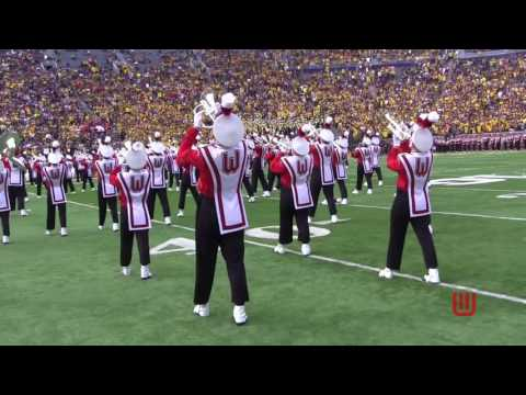 Badger Band Pre-Game at Michigan Stadium 10-1-16