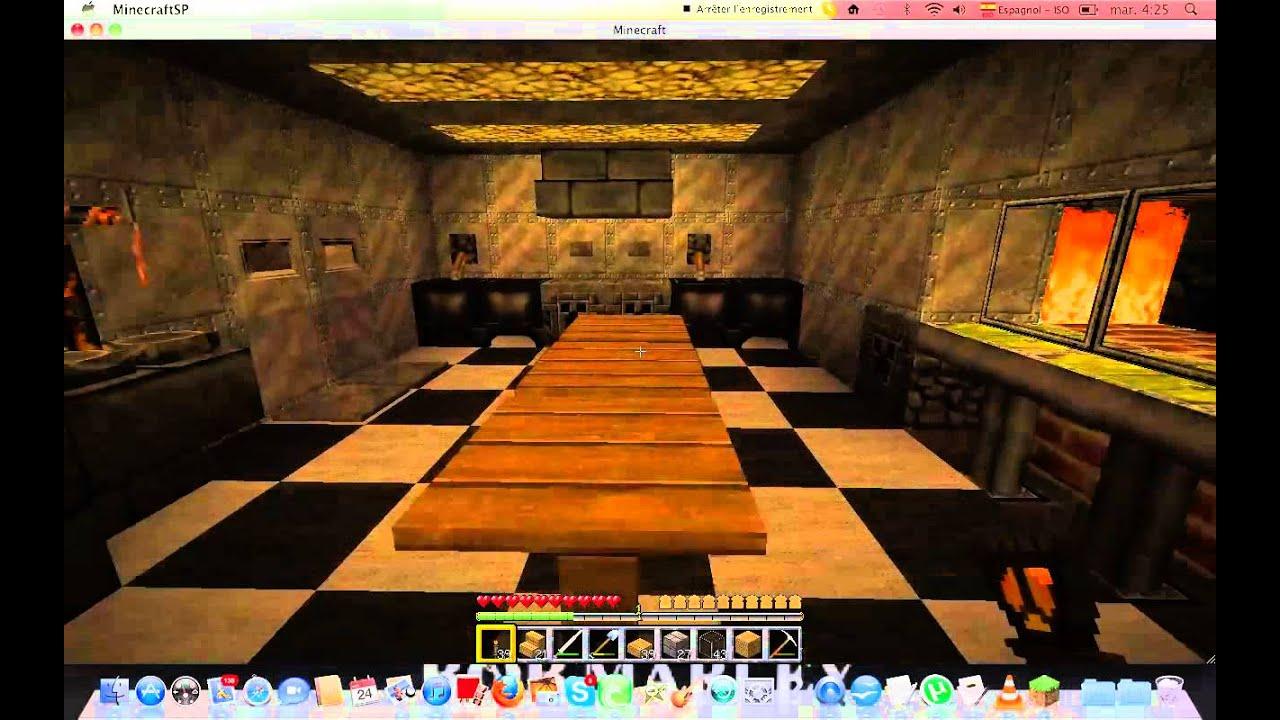 Tuto minecraft cuisine de luxe youtube for Cuisine minecraft